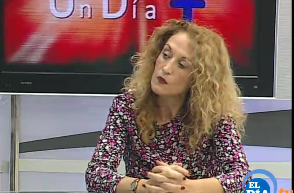 """Entrevista en """"Un Día Más"""" en Televisión Canaria"""