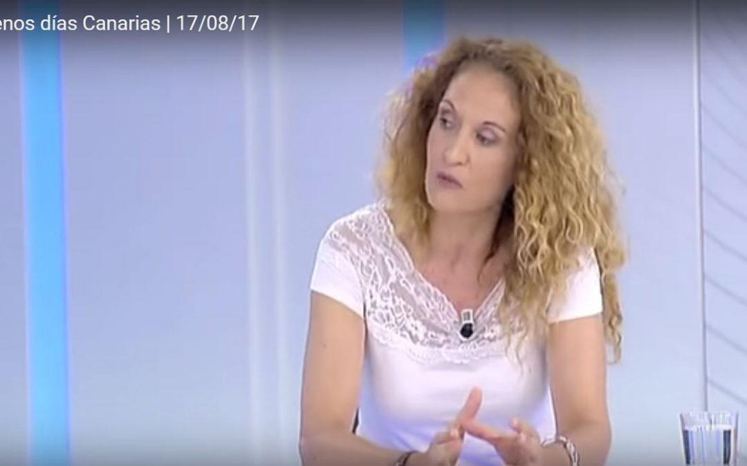 """Entrevista en Televisión Canaria: """"Las vacaciones que el cerebro necesita"""""""