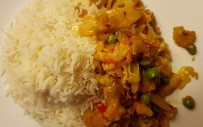 Curry de coliflor