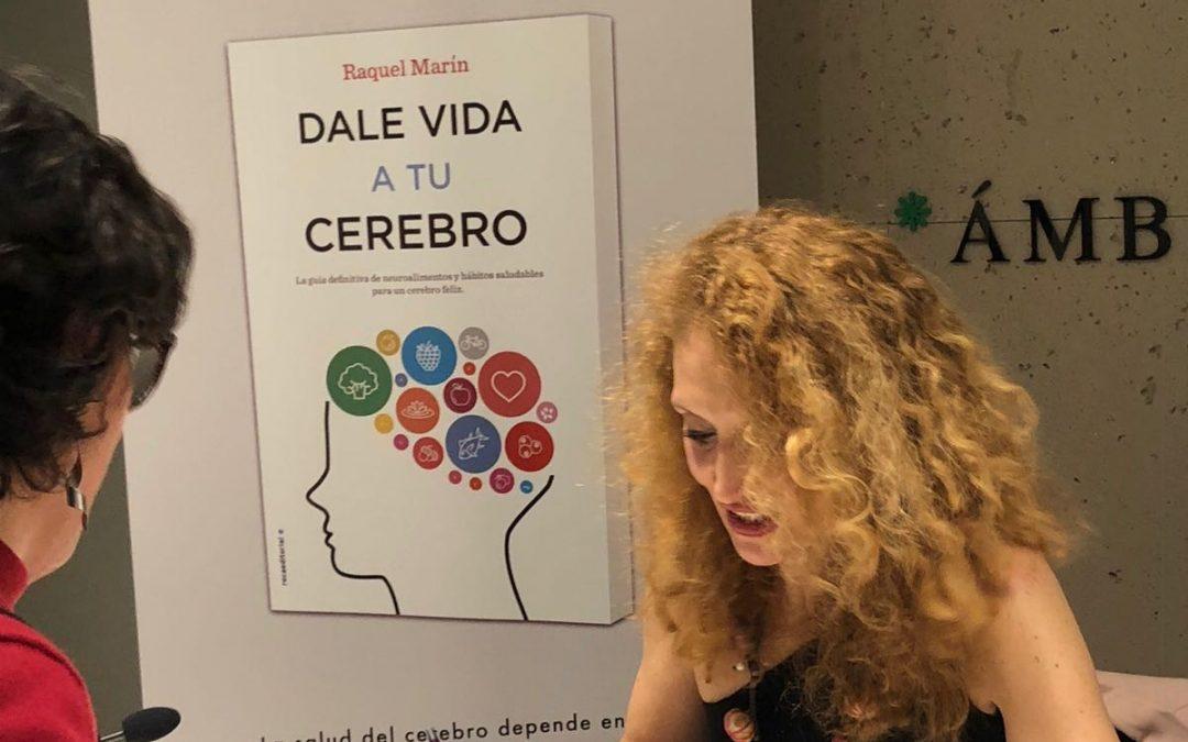 """""""Cumplemés"""" de mi libro """"Dale vida a tu cerebro"""""""