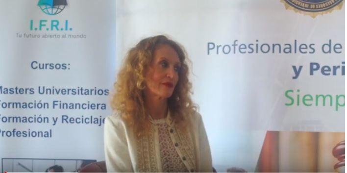 Entrevista en Expofinancial con motivo de mi premio a la divulgación.