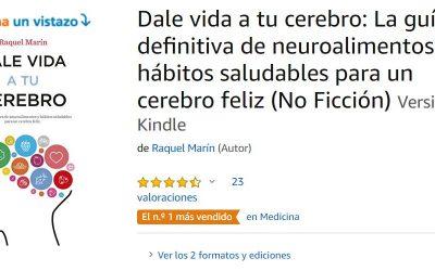 «Dale vida a tu cerebro»: El más vendido en medicina.